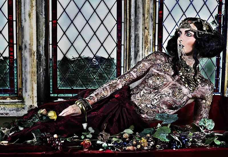 Byzantium-Inspired-Body-Art-Makeup-and-Concept-photographed-by-Felipe-Davila