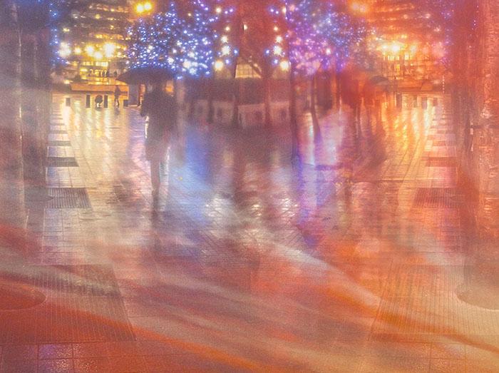 Embankment-at-Night colour photos