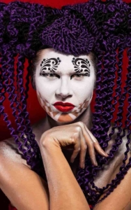 Harelquin Creative makeup look-conceptual art photography at FTphotography