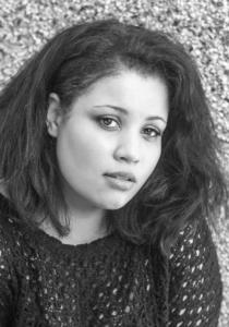 WOMEN-OF-COL black and white photo headshot